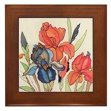 IRIS FLOWER Framed Tile