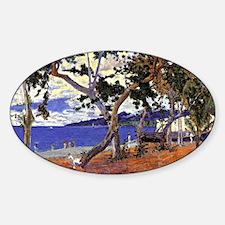 Gauguin - Coastal Landscape from Ma Decal