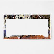 Gauguin - Coastal Landscape f License Plate Holder