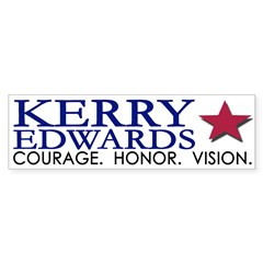 Kerry-Edwards 2004 (bumper sticker)