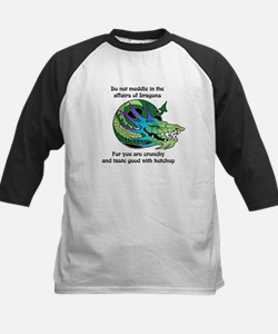 Dragon Crunchies Baseball Jersey