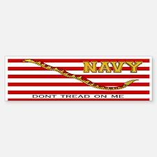 Navy Jack Bumper Bumper Bumper Sticker