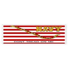 Navy Jack Bumper Bumper Sticker