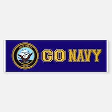 Go Navy Bumper Bumper Bumper Sticker