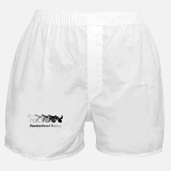 Racing Silhouette Boxer Shorts