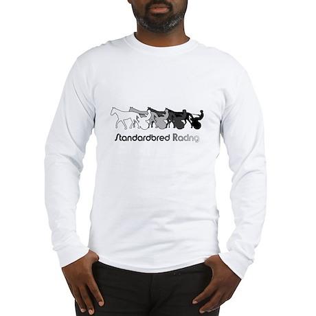 Racing Silhouette Long Sleeve T-Shirt