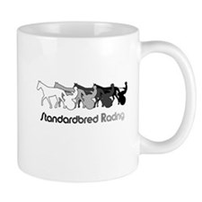 Racing Silhouette Small Mug