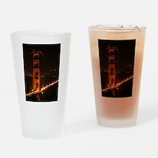 Golden Gate Bridge North Tower Drinking Glass
