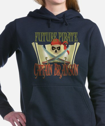 PirateBranson.png Hooded Sweatshirt