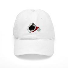 Cat Santa Hat Baseball Cap