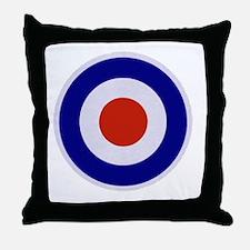 Mod Target Throw Pillow