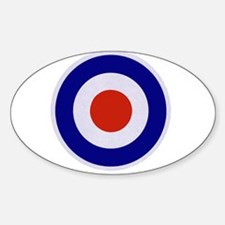 Mod Target Oval Decal