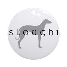 Sloughi Dog Breed Ornament (Round)