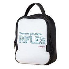 Color Guard Rifles Neoprene Lunch Bag