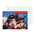20 American Christmas Greeting Cards