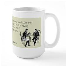 Impact Mens Bathroom Large Mug