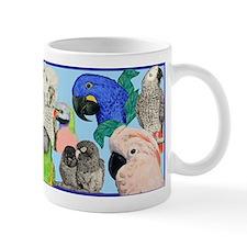 Parrots Small Mug