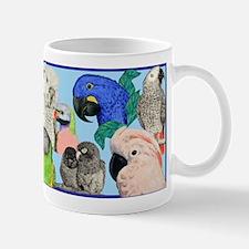 Parrots Small Small Mug