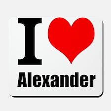 I Heart Alexander Mousepad