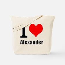 I Heart Alexander Tote Bag