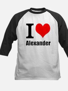 I Heart Alexander Baseball Jersey