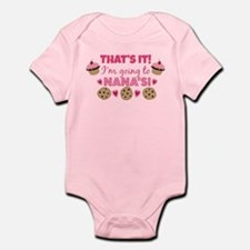That's it! I'm going to Nana's! Infant Bodysuit