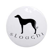 sloughi dog Ornament (Round)