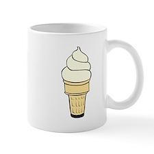 Vanilla Ice Cream Cone Mugs
