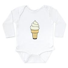 Vanilla Ice Cream Cone Body Suit