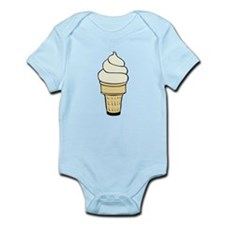 Vanilla Ice Cream Cone Body Suit