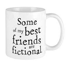Fictional Friends Small Mug
