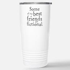 Fictional Friends Stainless Steel Travel Mug