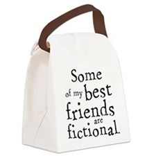 Fictional Friends Canvas Lunch Bag