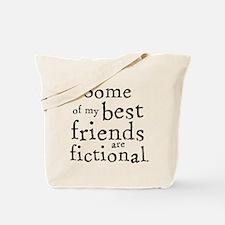 Fictional Friends Tote Bag