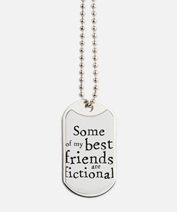 Fictional Friends Dog Tags
