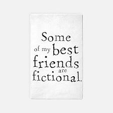 Fictional Friends 3'x5' Area Rug