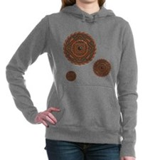 Leo Women's Dark Hooded Sweatshirt