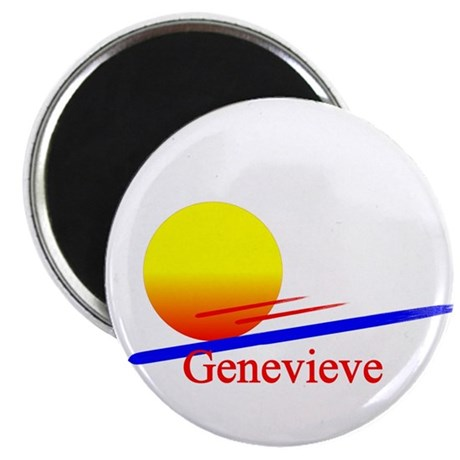 """Genevieve 2.25"""" Magnet (100 pack)"""
