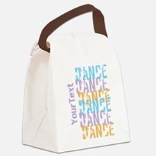 DANCE Optional Text Canvas Lunch Bag