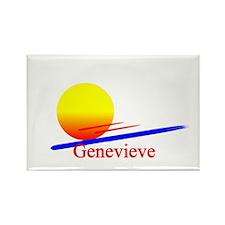 Genevieve Rectangle Magnet