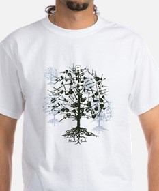 Guitar Tree Mens T-Shirt