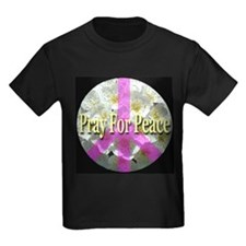 Pray For Peace Angelic Flower T