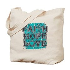 PKD Faith Hope Love Tote Bag