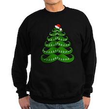 Mustache Christmas Tree with San Sweatshirt
