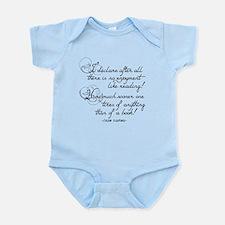 No Enjoyment Like Reading Infant Bodysuit