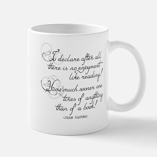 No Enjoyment Like Reading Mug
