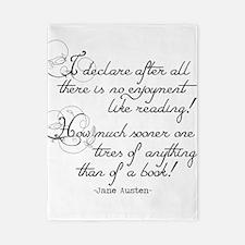 No Enjoyment Like Reading Twin Duvet