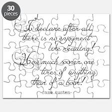 No Enjoyment Like Reading Puzzle