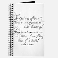 No Enjoyment Like Reading Journal