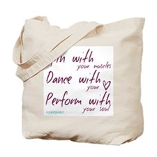 Color Guard Spin Dance Perform Tote Bag
